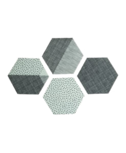 Polygon Coaster_Mint