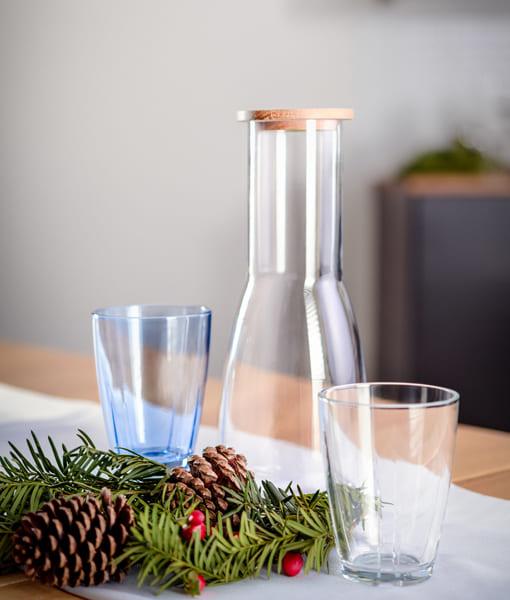 KOSTABODAのガラスコーディネート
