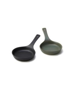 陶器のスキレットペアセット