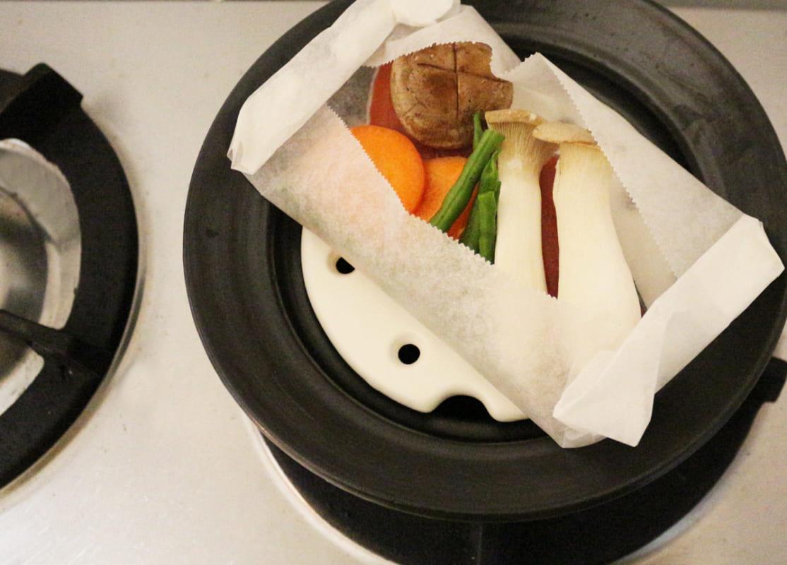 土鍋で美味しいごはん