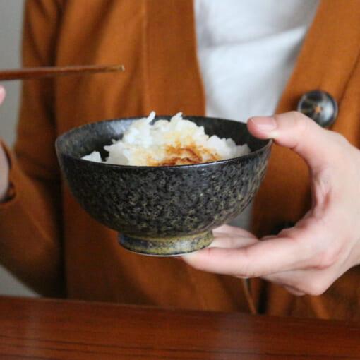 美濃焼のお茶碗でおいしいごはん